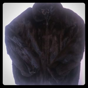 Other - Men's Brown Mink Jacket
